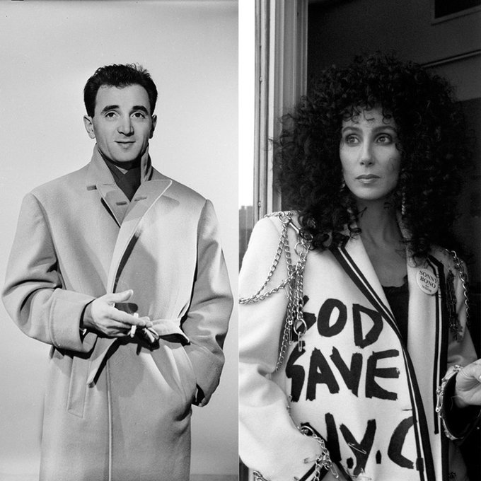Happy Birthday to Charles Aznavour (92 today) and Cher who celebrated her 70th on Friday.
