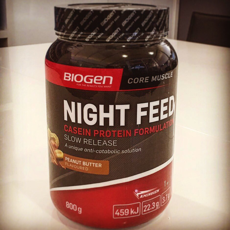 Coming soon... @BiogenSA #NightFeed Casein Slow Release Protein Formula #sneakpeak #beyourbest https://t.co/a5MbbkMvkt