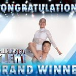 """""""@ABSCBNNews: Congratulations! #LoveWins: Power Duo wins PGT 5 https://t.co/pL1SUYm63V https://t.co/S8i3Q0z46D"""" nice one Power Duo ❤️"""