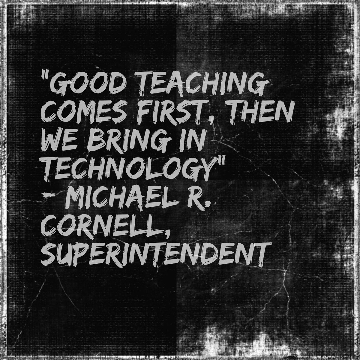 """Smart approach for EdTech. It's about the """"Ed"""" more than the """"Tech"""". #edtech #googleclassroom https://t.co/IwQHqmWS4N"""