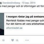 Det var alltså inte jag som gav Löfven titeln svetsaren. Det var @anderslindberg och Aftonbladet. https://t.co/pAQo3ugN6i
