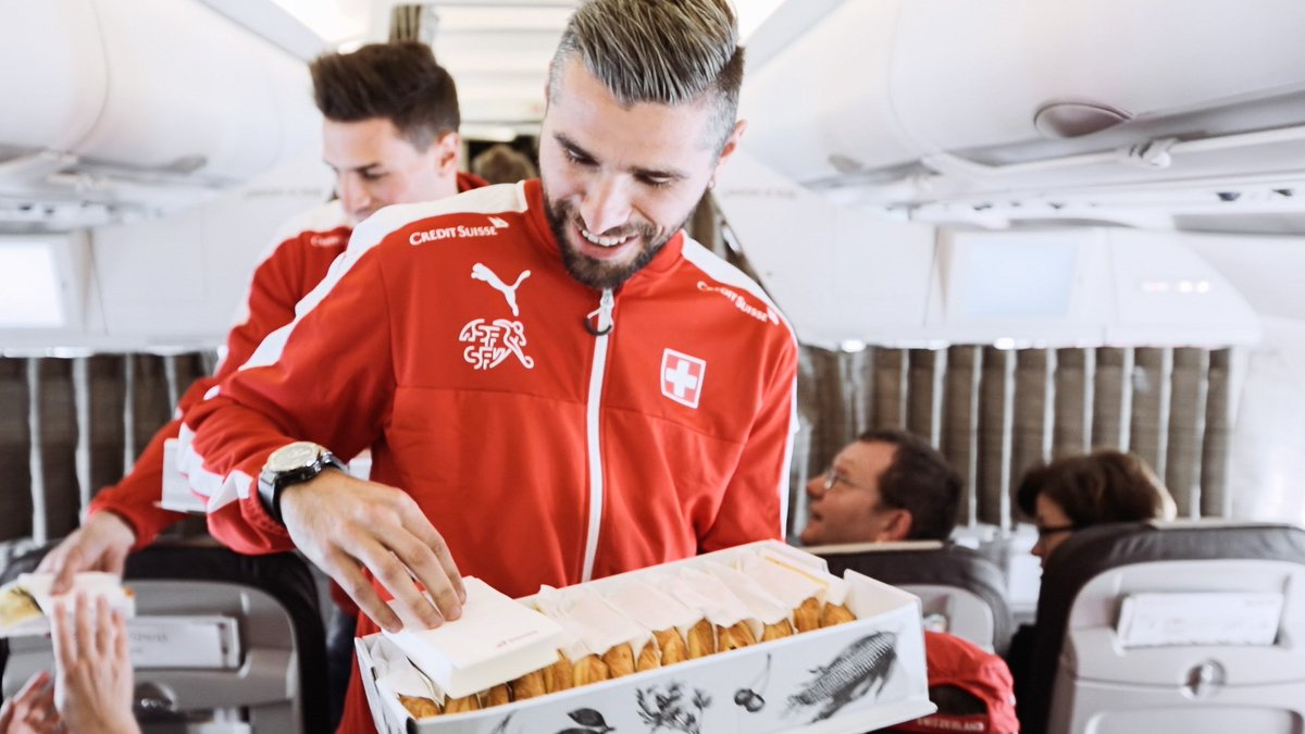 Happy to announce: SWISS is now the Official Airline of all Swiss national football teams