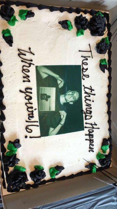 From my birthday party yesterday happy early birthday
