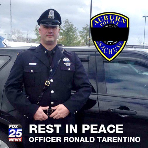 Brutal day. Thank you Officer Tarentino for your service. RIP #FOX25 https://t.co/FD3PF8eUdX https://t.co/e3hyvUxhNi