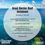 #GreatBarrierReef INSTAMEET with @SunloverCruises | SAT 4 June > Full deets & how to book https://t.co/dSoDIhYAeU https://t.co/YLQVi0BZg2