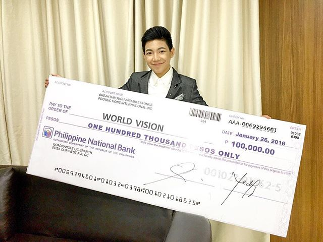 Happy birthday @Espanto2001! Your WV family is excited to jointly advocate w/ you for the cause of Pinoy children. https://t.co/03FID6nZ8f