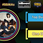 #BBMAs Top Duo/Group: @onedirection!  @BBMAs https://t.co/OBHdx6kipR