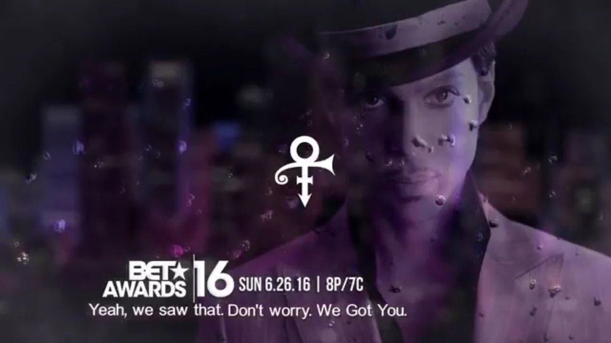 So @BET predicted the negative reaction to #BillboardMusicAwards' #Prince tribute. Sent this immediately after