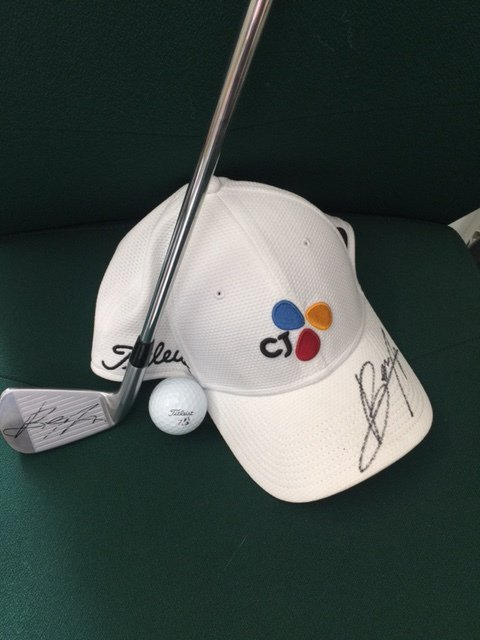 Want to win reigning Wentworth champ @ByeongHunAn's seven iron, cap and ball? Just RT and follow us. Draw Weds https://t.co/qgDIgcLuvr