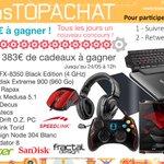 Concours #17AnsTopAchat  1 383 € à gagner avec le #Lot16 !  Pour participer, RT + Follow @TopAchat :-) https://t.co/UEfWkasotz