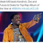 "Meek Mill Won ""Top Rap Album Of The Year""‼️???? https://t.co/FBFfy90v5G"