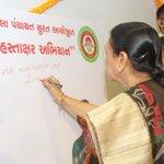 Love & blessings to all the daughters of Gujarat #BetiBachaoBetiPadhao #KanyaKelavani https://t.co/fjMQtnOv9N