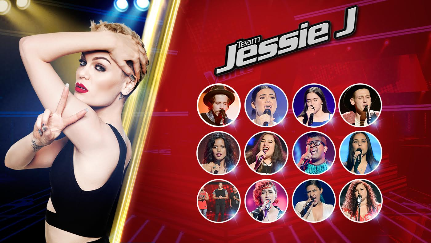 That's it #TeamJessieJ is complete, Blinds are done! Heartbeats, meet my team! → https://t.co/9Ng5clYATS #TheVoiceAu https://t.co/LQl67kVbkI