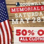 Goodwill of Delaware & Delaware County - Saturday, May 28 Get 50% Off all clothing! https://t.co/93PiEvedtR https://t.co/wEC1lLz0Wd