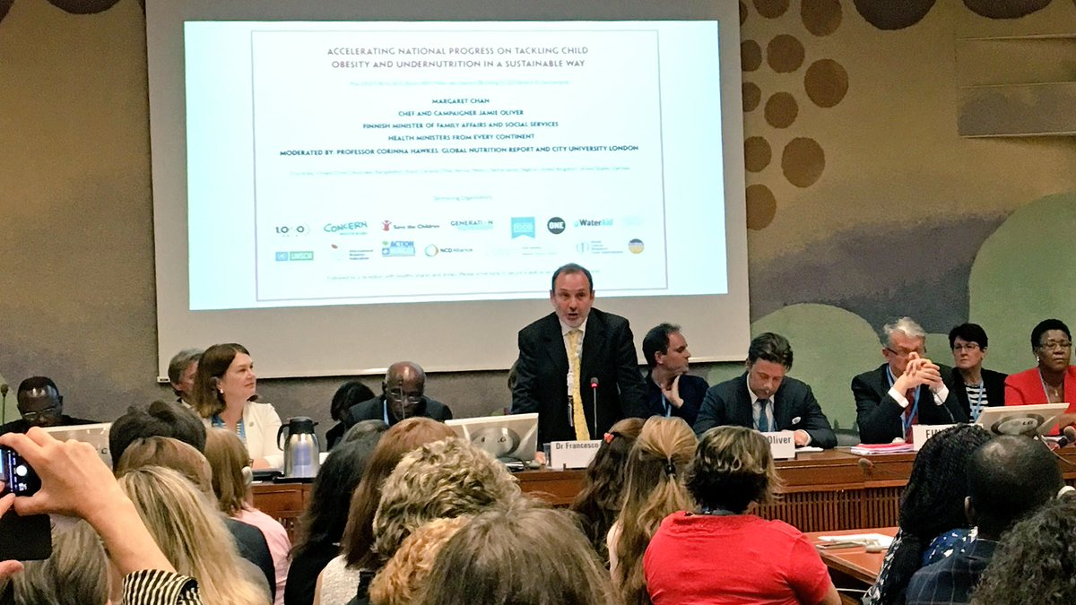 RT @SandroDemaio: Fantastic address from @WHO's @Branca59. The world must act to end malnutrition, in the #NutritionDecade. #WHA69 https://…