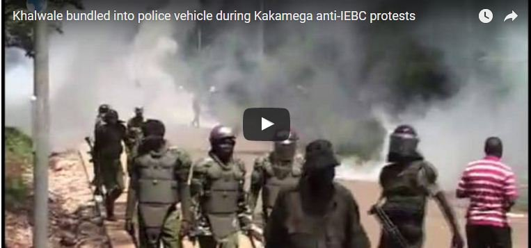 Two killed as Cord demos turn violent - VIDEO - Daily