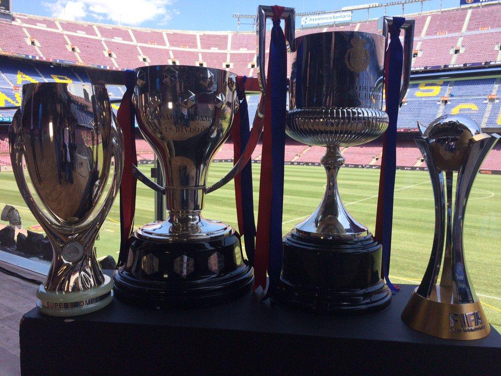 Lliga, Copa, Supercopa Europa i Mundial clubs... Les quatre, juntes per al #tntv3 #campionstv3 #CampNou https://t.co/3Ei4MYktv7