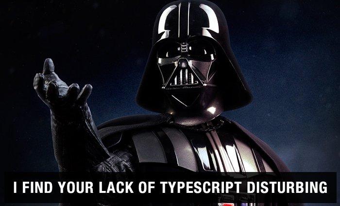 My journey to the dark side is complete. I'll now be doing #Angular2 demos in TypeScript. https://t.co/dkSvDOgk2p https://t.co/3rGob7QpdV