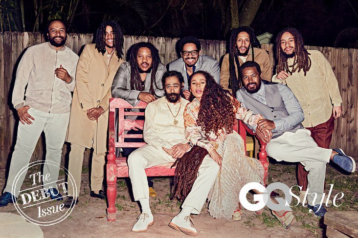 Bob Marley's family reunites for its first photoshoot in over a decade https://t.co/KAicI5YQ9C https://t.co/kSAYQjqFNH