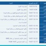 #جامعة_القصيم تعلن 15 رمضان موعدا لبداية القبول في 38 كلية للعام الجامعي 1437 - 1438هـ عبر البوابة الإلكترونية. https://t.co/DbNKzygYXw