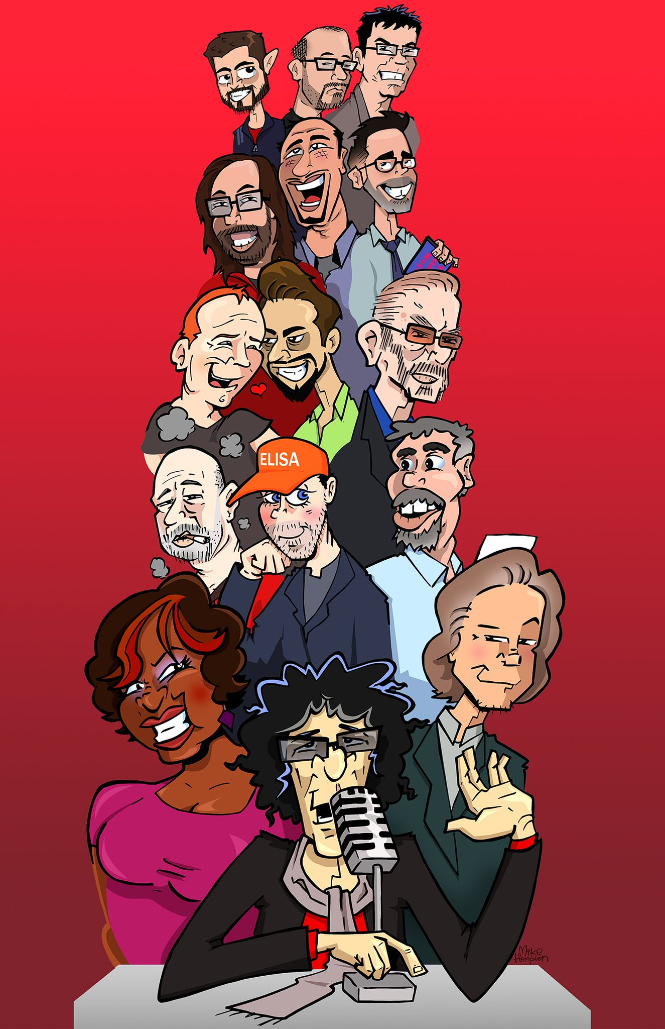 The Howard Stern Show - Magazine cover