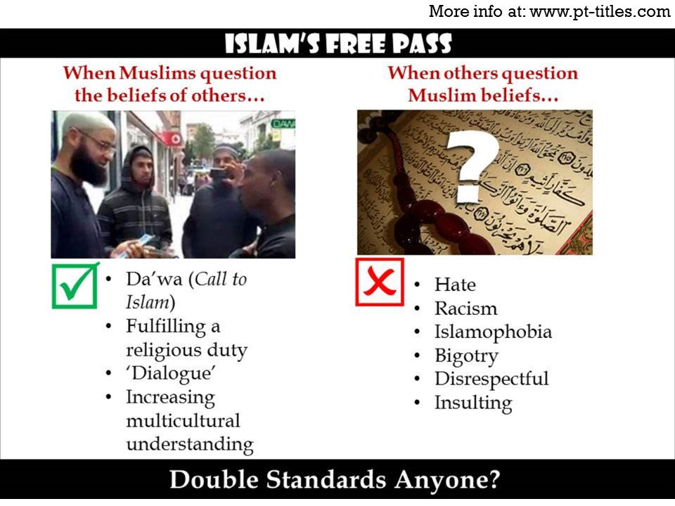 Islam's Free Pass; #tcot #pjnet #isis #tlot https://t.co/ON141YR0Oa https://t.co/PkTcSZUOF8