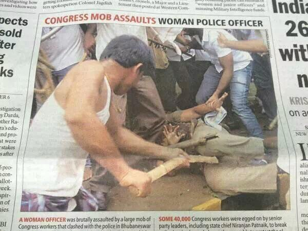 and here is the opposition party culture of #congress. Pics dont lie. What say @RohanV ? @priyankac19 @smritiirani https://t.co/Rh8VUppP7V