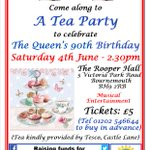 Why not celebrate the Queens 90th Birthday with us? @BournemouthCVS @bournemouthbc @bmthchamber @Bournemouthecho https://t.co/FhrsLJ9trx