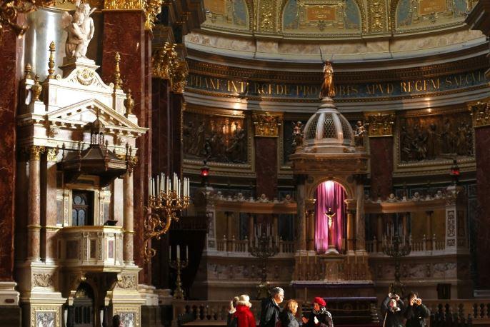 St. Stephen Bazilikası, Macaristan'ın ilk kralı Stephen onuruna yapılmış bir Roma Katolik kilisesi. https://t.co/Fpae4VUxFq