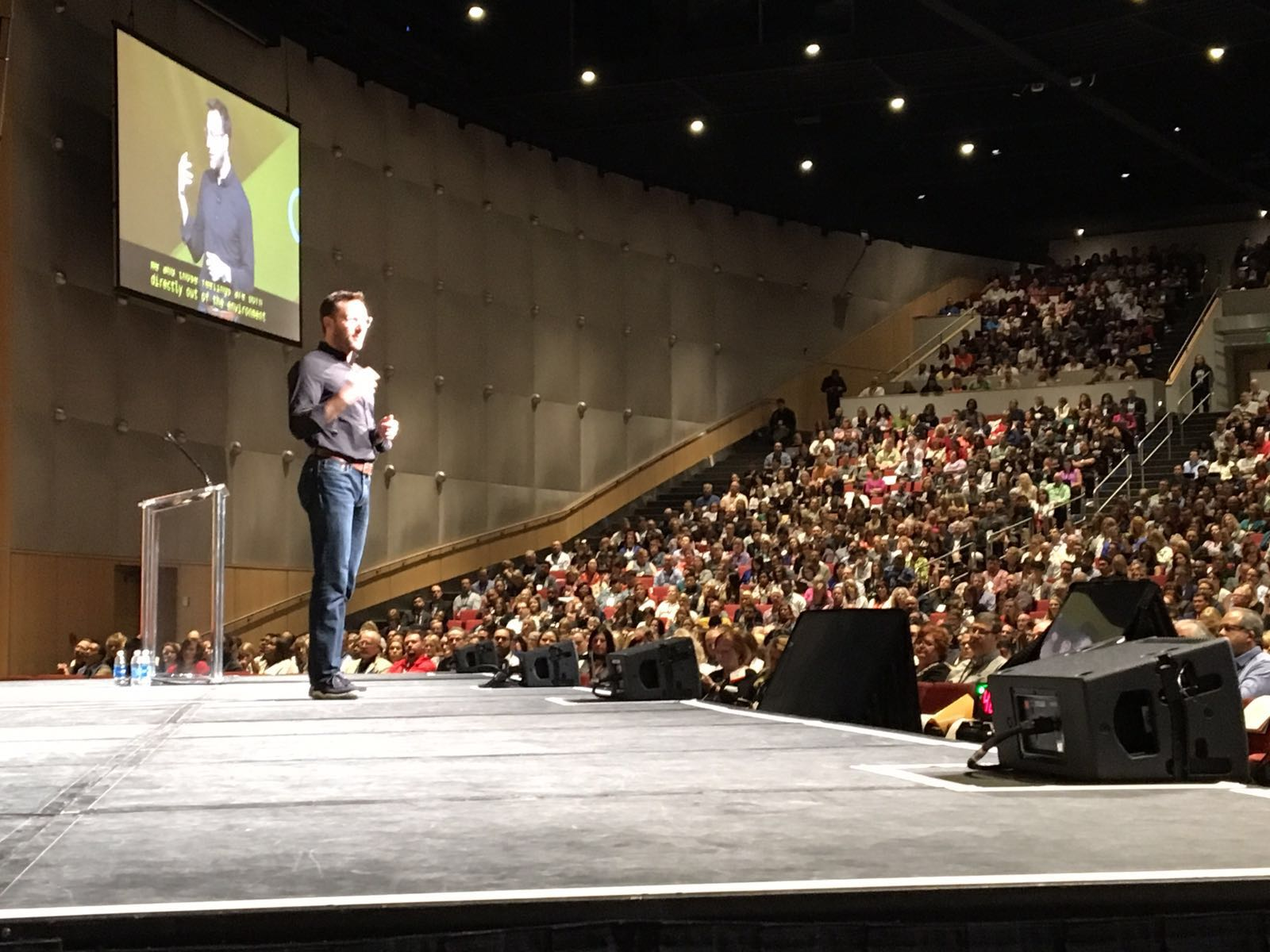 Leadership is about taking care of the people. The people will take care of the results. @simonsinek #ATD2016 https://t.co/cRkWEx1P31