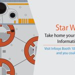 This year at #INFA16, a cool #BB8 awaits its lucky owner. Calling all #StarWars enthusiasts to Infosys booth 100 https://t.co/JKf7pD6igx