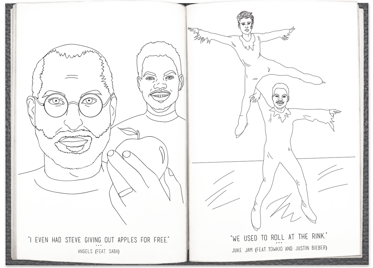 These heroes have turned chance the rapper\'s \'coloring book\' lyrics ...