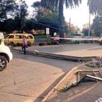 A esta hora: Taco en Av. Picarte altura Puente Calle Calle por poste caído en la vía #ValdiviaCL https://t.co/my9uUQeT4m