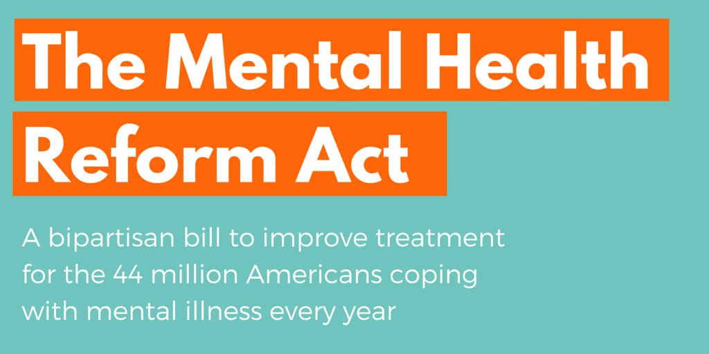 I stand w/@BillCassidy & @ChrisMurphyCT to fix our mental health system. Let's pass #MentalHealthReform now. https://t.co/IkyP6c5s7a