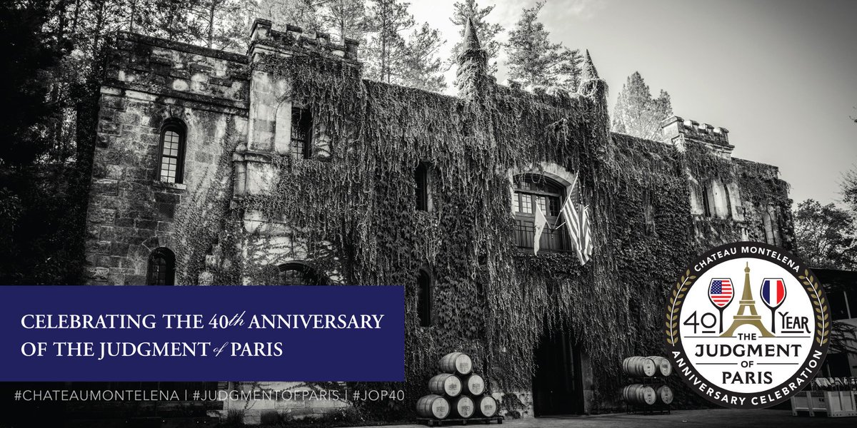 Join us tomorrow for our Open House event, celebrating the 40th anniversary of the #JudgmentofParis. 930-4pm https://t.co/goC4ypp3mJ