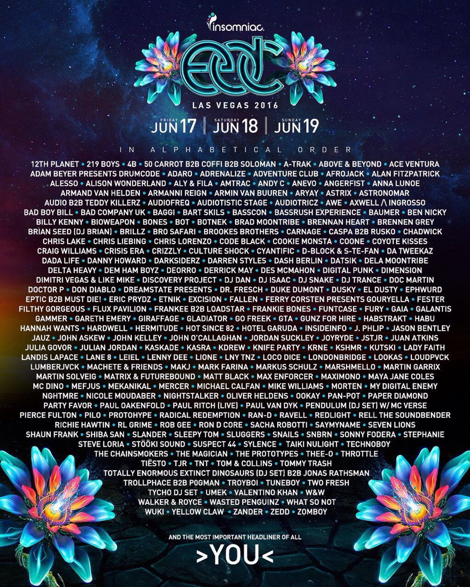 Great to be back at @EDC_LasVegas this year! https://t.co/qkjrEeVaSp