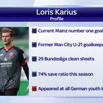 Mainz goalkeeper Loris Karius is in Liverpool ahead of a £4.7m move. More here: https://t.co/93UBYalLnB #SSNHQ https://t.co/Majs0KaDnW
