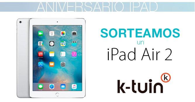 Hace 6 años que llego el primer #iPad a @Ktuin y lo cebramos con un #SorteoApple Aquí--> https://t.co/5NpTZFbKfm https://t.co/6vCOrgFoNM
