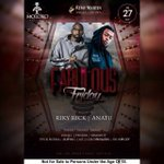 1 more Nite😉 Coz 2moro its #FabulousFriday 👠👛 @MolokoPretoria Performance by @rikyrickworld @ANATII  #MolokoPTA https://t.co/NL9EZvSnlh