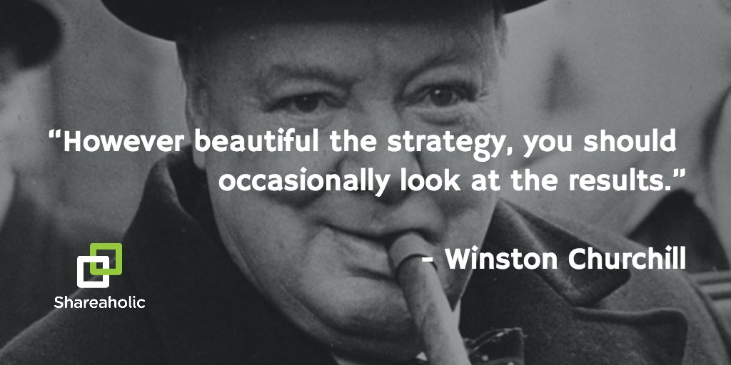 """However beautiful the strategy..."" - Winston Churchill #contentmarketing #quoted https://t.co/gXSgbDLdnU"