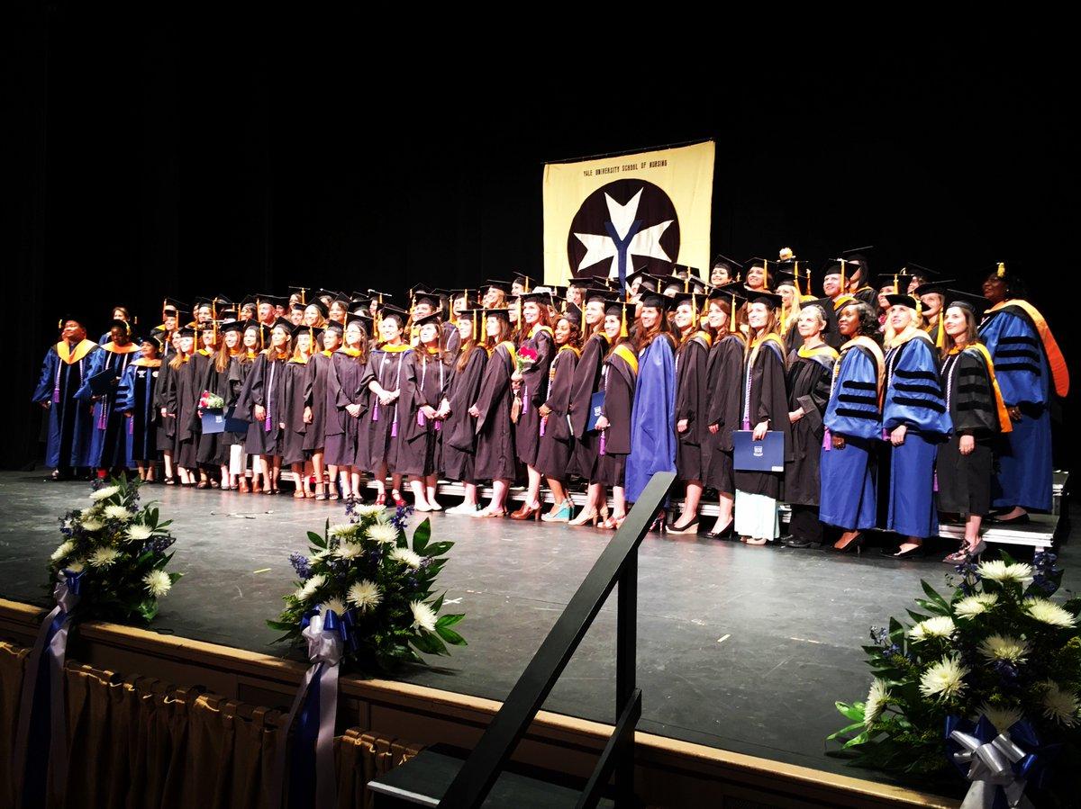 Congratulations Class of 2016! #Yale2016 #yalenursing https://t.co/LzvzsGXxHN