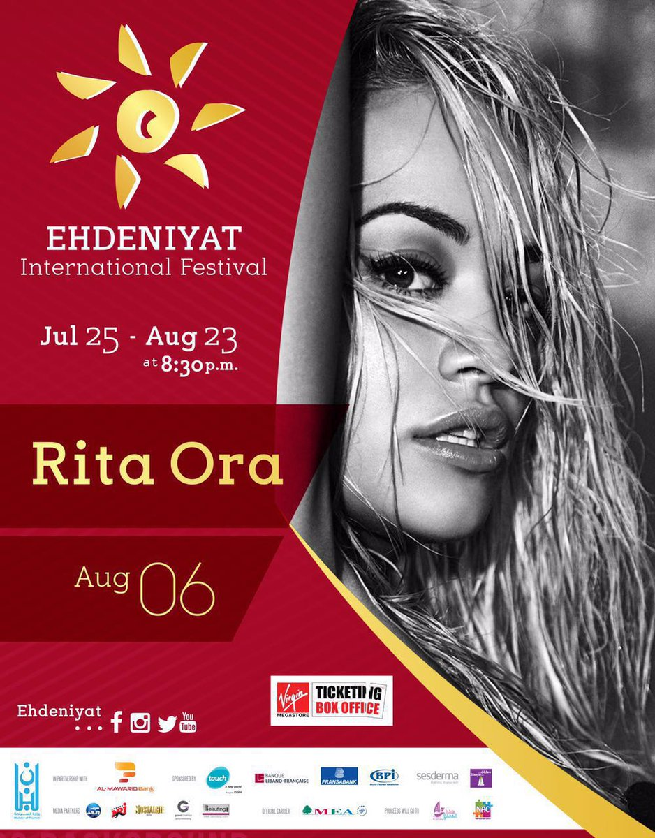 So excited to be coming to Lebanon for @Ehdeniyat!! See you August 6th ???????????????????????? https://t.co/H1viDMyjth