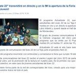 Alegría total. Son nuestros chiquilines del liceo 22 de Montevideo. https://t.co/vLaUTdBerm