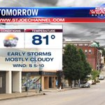 Off and on thunderstorm chances this week. https://t.co/QwUd4LmpDz #KQ2 #Weather https://t.co/C8LeS19mM9