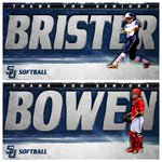 Thank you @SamfordSB Seniors!  Thank you Callie Brister! Thank you Clara Bowen! 2016 @SoConSports Champs! #40wins https://t.co/mFjUzLgqMZ