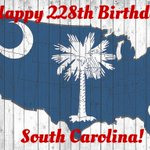 Weve got 50 amazing states, but South Carolina is the greatest place on Earth to call home. Happy 228th Birthday! https://t.co/ttSYjYMNcO