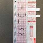 This is an actual student scantron submission for my MCB 10 midterm. https://t.co/GywjhPTjdv
