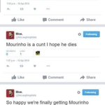 #SuaraBolaneters Dulu benci dan mencaci, sekarang mendadak cinta dan memuja.  Fans Manchester United ini contohnya. https://t.co/NEoGYZ9SmK