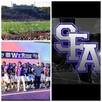 Officially happy to say I received my first offer from Stephen F Austin.  😇😇😇 #SFA https://t.co/r5EwISOlxi