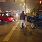 Precaución #Valdiviacl colisión de vehículos  en Av picarte con Simpson https://t.co/s5GHyRw4GW